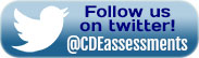 Follow us on twitter - @CDEassessments