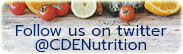 Follow @CDENutrition on Twitter.