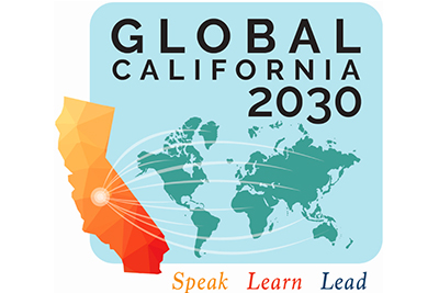 Global California 2030 logo.