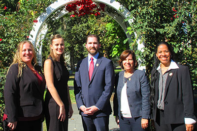 Photo of the five California Teachers of the Year 2019