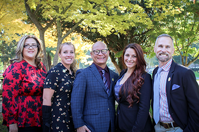 Photo of the five California Teachers of the Year 2020
