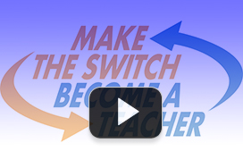 Video thumbnail of Make the Switch Become a Teacher