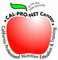 California Professional Nutrition Education & Training (Cal-Pro-NET) Center logo.