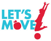 Let's Move initiative logo.