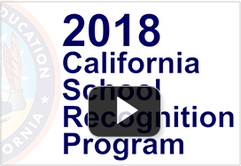 Video thumbnail of 2018 California School Recognition Program
