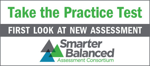 Link to the Smarter Balanced Practice Test - First Look at New Assessment